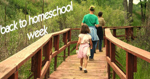 back to homeschool week